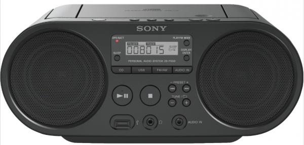 Sony ZSPS50 schwarz Radio CD-Player