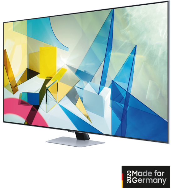 Samsung QLED GQ55Q84TGTXZG silber 138cm 4K UHD HDR SmartTV