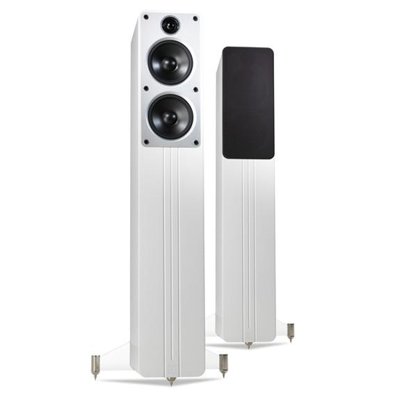 Q Acoustics Concept 40 weiss hochglanz Stueckpreis