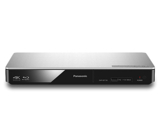 Panasonic DMPBDT185 Blu-Ray-Player 3D 4K-Scaler