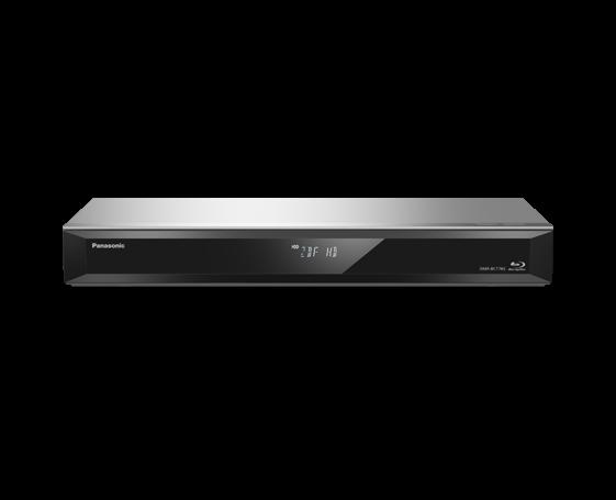 Panasonic DMRBCT765 BluRay Recorder 500gb TwinTuner silber