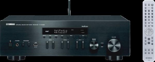 yamaha rn402d schwarz stereoverst rker receiver audio. Black Bedroom Furniture Sets. Home Design Ideas