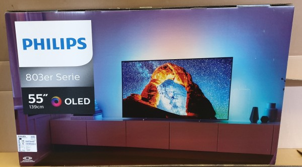 Philips 55OLED803/12 139cm 4K UHD Ambilight SmartTV