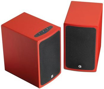 Q Acoustics BT3 Bluetooth Lautsprecher rot