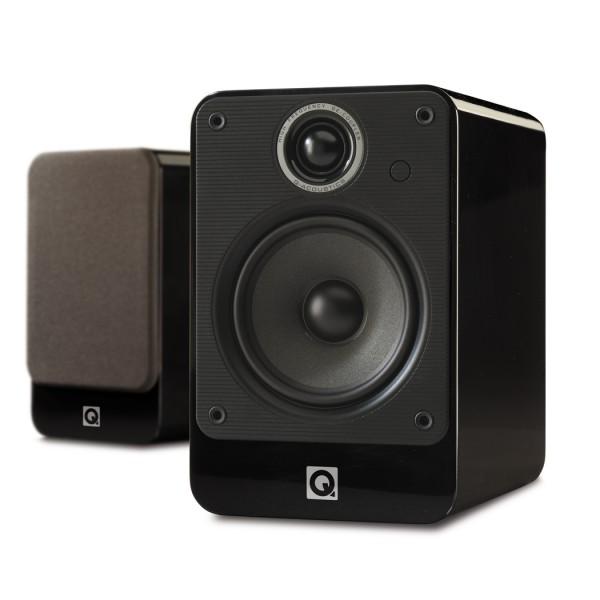Q Acoustics 2020i schwarz hochglanz PAARPREIS