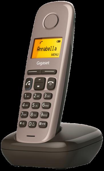 Gigaset A270 braun Festnetz-Telefon