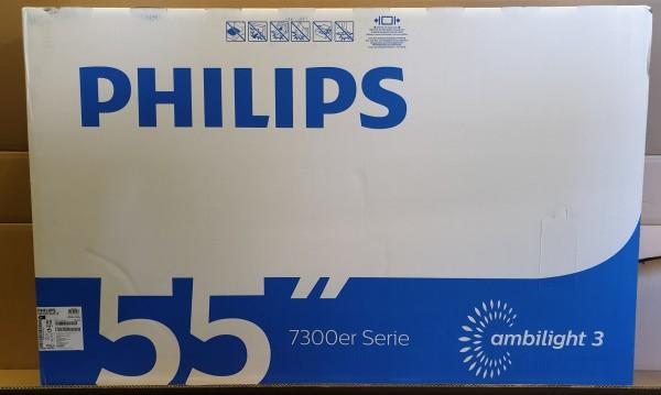 Philips 55PUS7303/12 Dunkelsilber 139cm 4K SmartTV