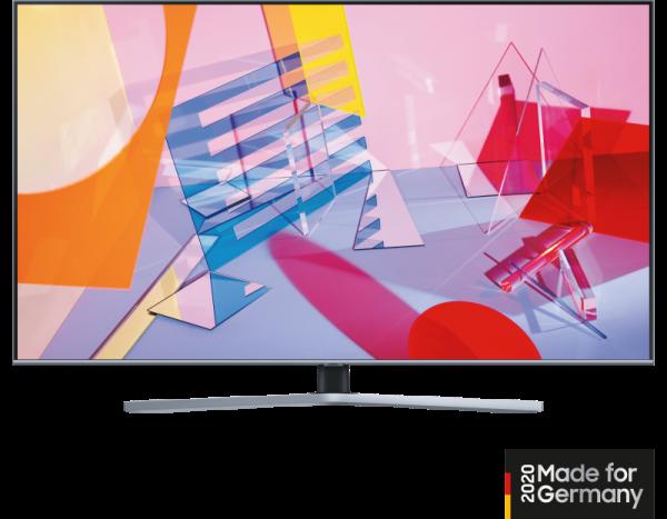 Samsung QLED GQ55Q64T Titan 138cm 4K PQI3100 TripleTuner SmartTV deutsches Modell 2020