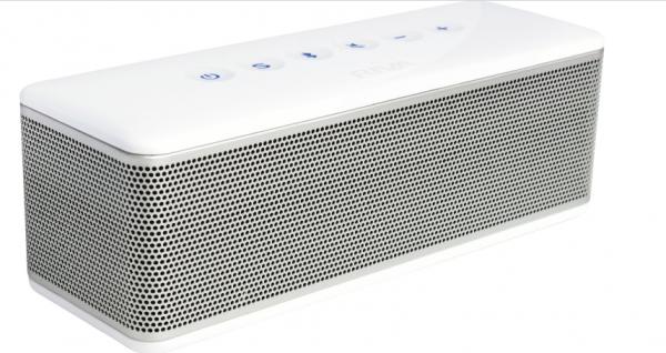 Riva S weiss-silber portabler Lautsprecher