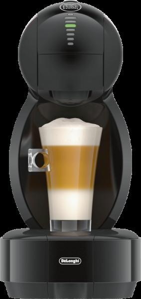 DeLonghi EDG 355.B1 COLORS Schwarz-Rot Kaffee-Kapselautomat